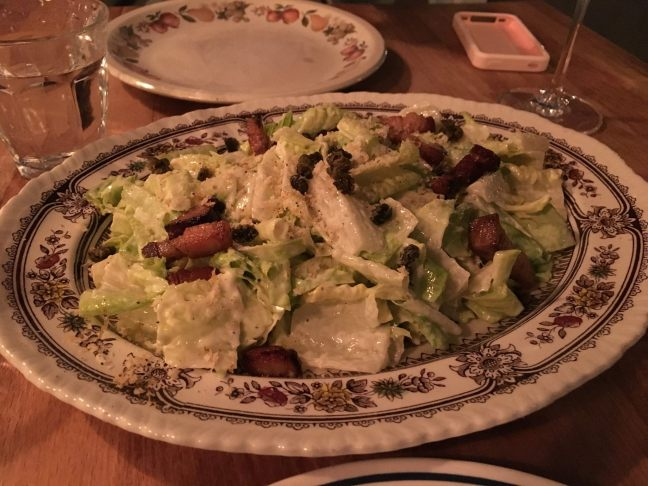 Caesar salad (for two)